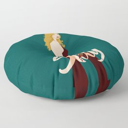 Slay Buffy! Floor Pillow