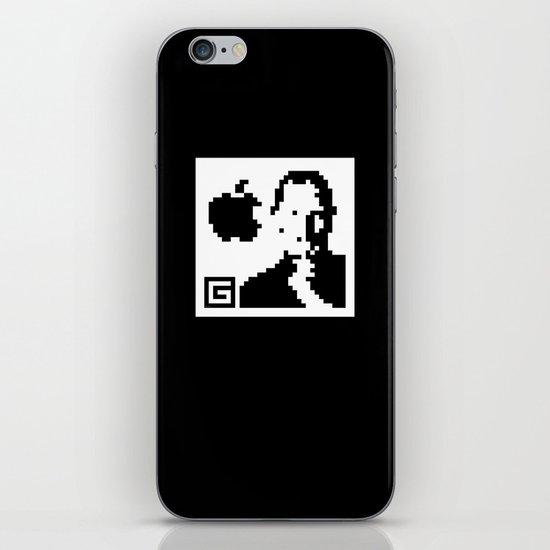 QR- Jobs iPhone & iPod Skin
