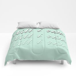 still I rise XII Comforters