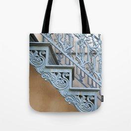 Savannah Blue Staircase Tote Bag