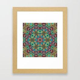 Vibrant Pattern Framed Art Print
