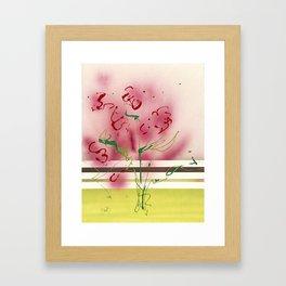 Modern Botanical Framed Art Print