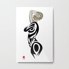 INCOGNITO (white background) Metal Print