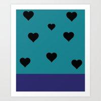 allison argent Art Prints featuring Allison Argent by smartypants
