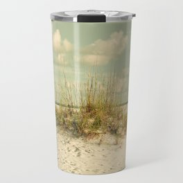 Tropical Beach Vibes Travel Mug