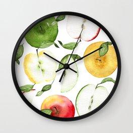 How Ya Like Them Apples Wall Clock
