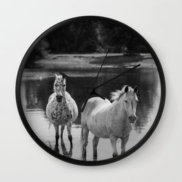 Equine Tranquility Wall Clock