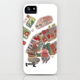 chilhood maps iPhone Case