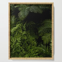 Tropical jungle. Serving Tray