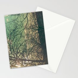 trees & sky. Stationery Cards