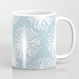 Blooming Sky Blue Coffee Mug
