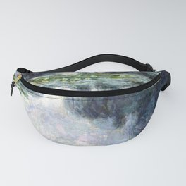 Claude Monet Pond with Water Lilies Fanny Pack