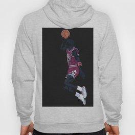 Air Jordan Basketball Payer Art Print and Poster Hoody