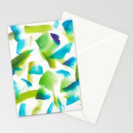180719 Koh-I-Noor Watercolour Abstract 28| Watercolor Brush Strokes Stationery Cards