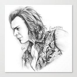 Harry Styles Sketch #1 Canvas Print
