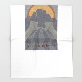 Perseverance - (Artifact Series) Throw Blanket