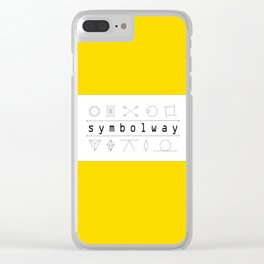 SYMBOLWAY Clear iPhone Case