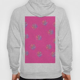 Old Fashion Pink Blouses Pattern Hoody