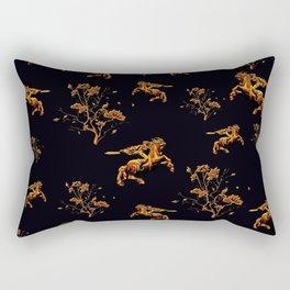 Golden David of Sassoun Rectangular Pillow
