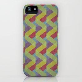 Ribbon Geometry iPhone Case