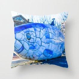 The Big Fish Throw Pillow