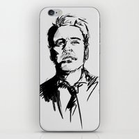 robert downey jr iPhone & iPod Skins featuring Robert Downey Jr by charlotvanh