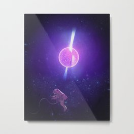 Lost in Outer Space Metal Print