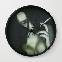 My smoking fetish Wall Clock