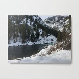 Snowy Pass- Leavenworth Metal Print