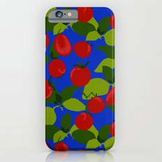 Tomato Basil Pattern iPhone 6s Slim Case