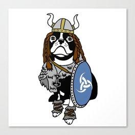 Viking Dog Canvas Print