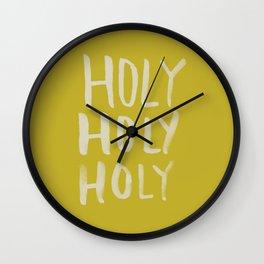 Holy Holy Holy x Mustard Wall Clock