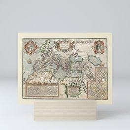 Map Of The Roman Empire Mini Art Print