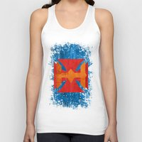 he man Tank Tops featuring He-Man by Some_Designs