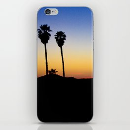Hopped off the plane at LAX iPhone Skin