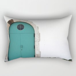 Magazine door - Fortaleza de Sagres, Portugal Rectangular Pillow