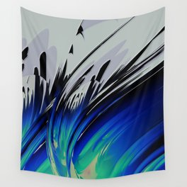 Abstract Composition 126 Wall Tapestry
