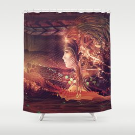 Shadow of a Thousand Lives - Visionary - Manafold Art Shower Curtain