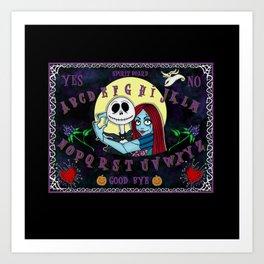 Nightmare Spirit Board Art Print