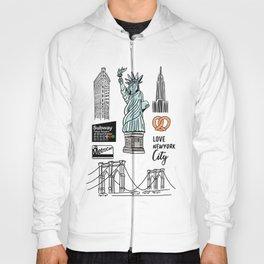 New York City Doodle Hoody