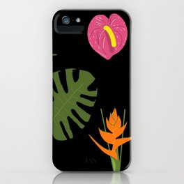 Jungle / Tropical Pattern iPhone Case