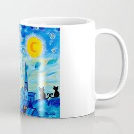 Modern Starry Night Coffee Mug