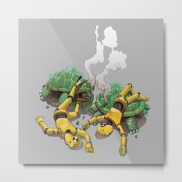 Crash test Metal Print
