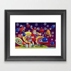 Bonkey the Elf Framed Art Print