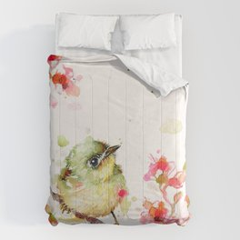 Mr Fluffy Pants (bird) Comforters