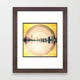 """San Diego"" Framed Art Print"