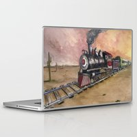 southwest Laptop & iPad Skins featuring Southwest Journey by Jeff Moser Watercolorist