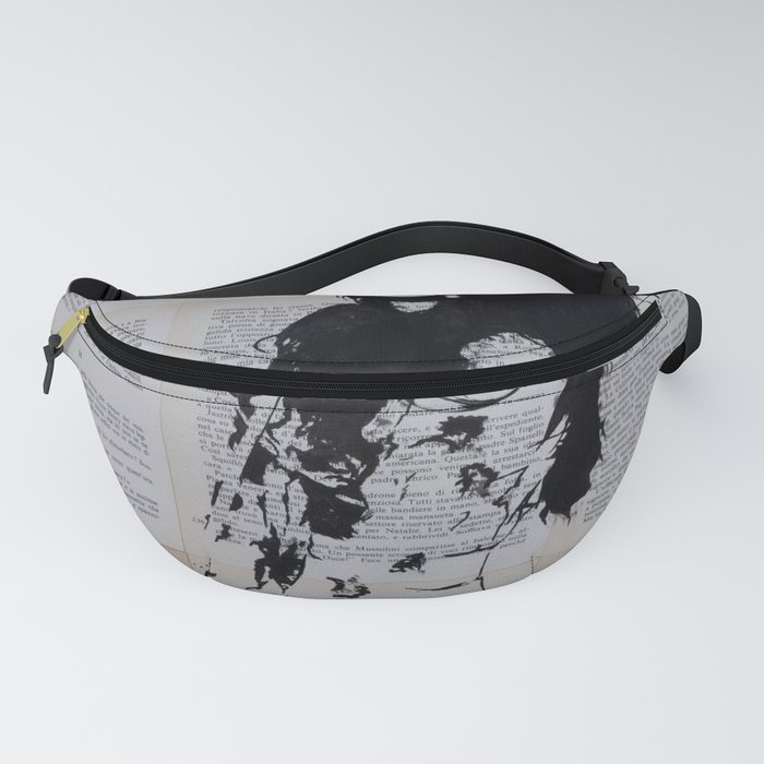 Girl with sunshade Fanny Pack