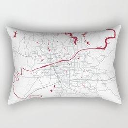 FanMap | NCAA Alabama #09 Rectangular Pillow