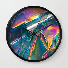 IRIDESCENT Wall Clock